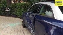 Un conductor sufre un infarto mientras conducía