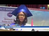 RTG/Cérémonie de remise de diplômes de fin de cycle à une centaine d'étudiants de l'école de management du Gabon