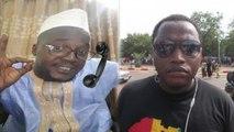 Ibrahim Yattassaye - au Téléphone avec Ras Dial pour Parler de son Arrestation