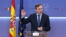 Hernando pide a Sánchez explicaciones sobre EH Bildu