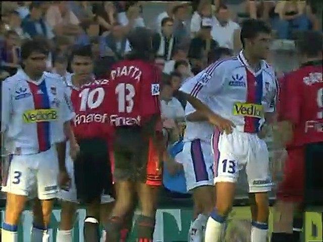 15/08/99 : Christian Bassila (45'+1) : Lyon - Rennes (2-2)