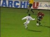 27/11/99 : Cédric Bardon (11') : Rennes - Auxerre (1-0)