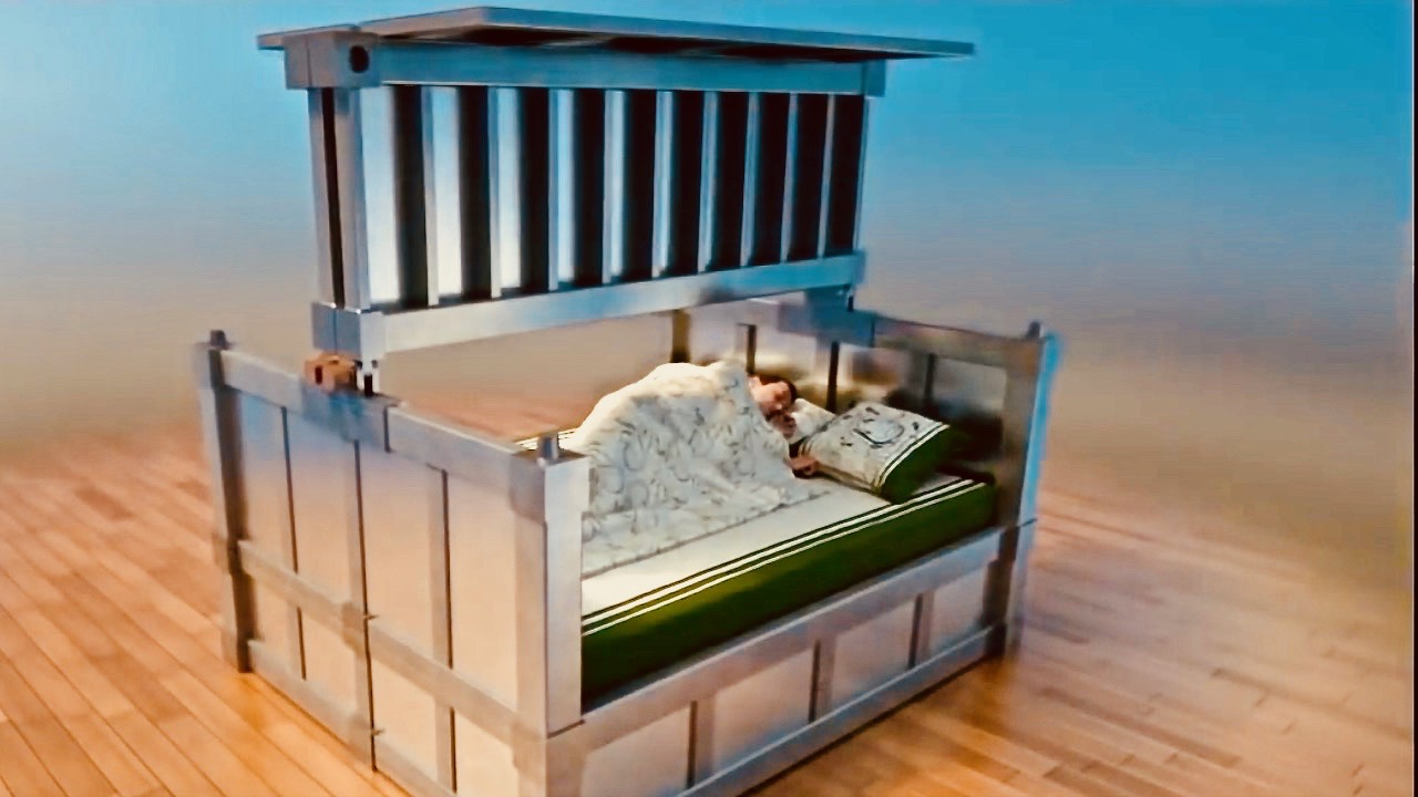 Earthquake Proof Bed -Sleep In Safety – Survival Prepper's Dream