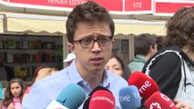 Errejón valora la llegada de Pedro Sánchez a la Moncloa