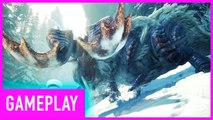 Monster Hunter World: Iceborne: Public Beta - Banbaro Hunt Gameplay