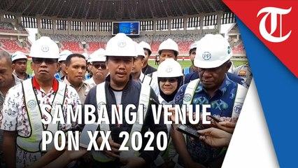 Menpora Sambangi Venue-Venue Untuk PON XX 2020 Papua