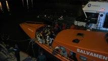 Salvamento Marítimo ha rescatado a 58 personas de una patera y han sido trasladados al puerto de Barbate (Cádiz)