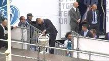 El Real Madrid celebra en Cibeles la Liga de Campeones