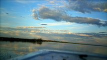 "MCH 108 CAUGHT A FISH WELL  ENJOYING THE VIEW WELL FISHING AT GULL LAKE ALBERTA CANADA.GPS 52º27'54.75"" N 113º55'55.76"" W"