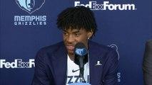 Memphis Grizzlies Introduce -2 Overall Pick Ja Morant