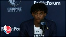 Ja Morant knows he has big shoes to fill after Mike Conley Jr. trade - 2019 NBA Draft