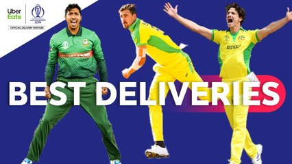 UberEats Best Deliveries of the Day - Australia vs Bangladesh - ICC Cricket World Cup 2019