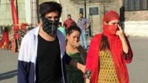 Sara Ali Khan & Kartik Aaryan hide their face in Shimla streets; Check Out   FilmiBeat