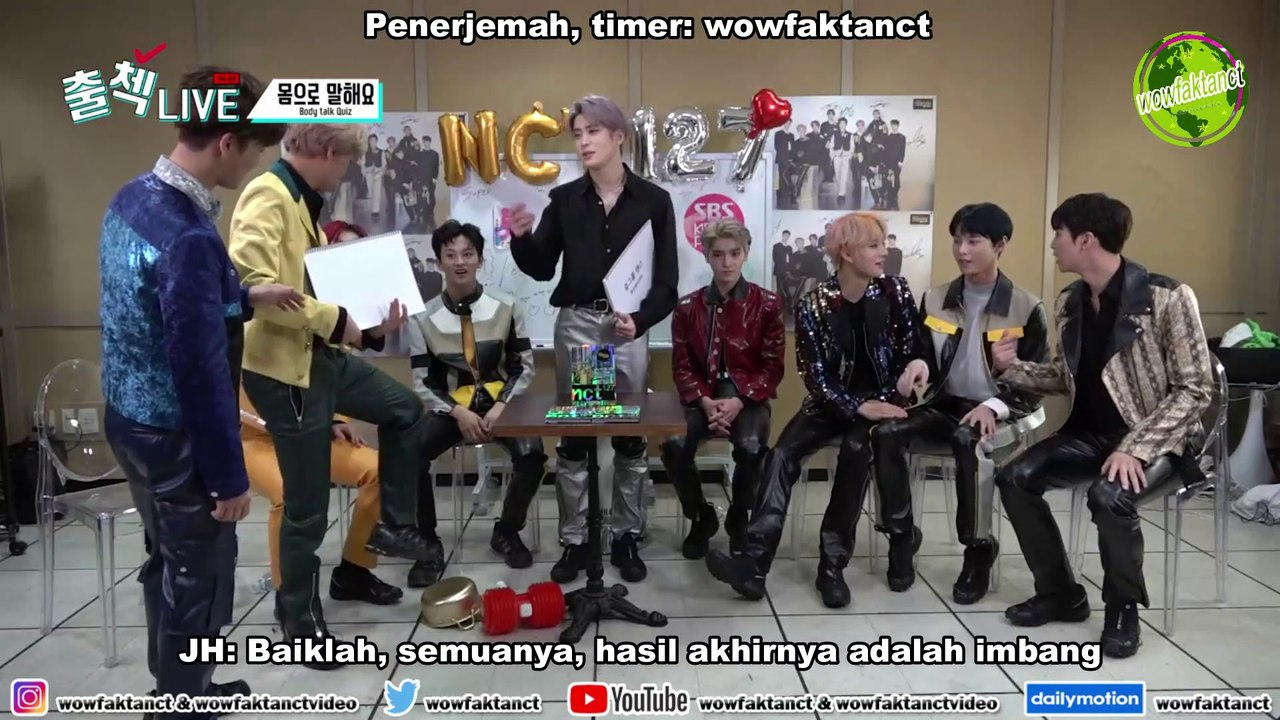 [INDO SUB] NCT 127 - Inkigayo Waiting Room Check-in LIVE Episode 2
