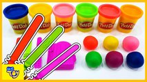 Learn Colors with Playdoh Rainbow Ice cream. Fun Learning Videos for Kids - WeToy