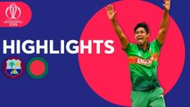 West Indies vs Bangladesh - Match Highlights - ICC Cricket World Cup 2019