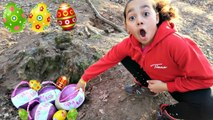 Easter Egg Treasure Hunt In A Forest- LOL Pearl Surprise Toys - Toys AndMe
