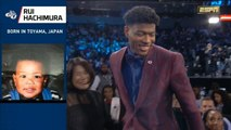 Rui Hachimura - 9th pick, 1st round - 2019 NBA Draft