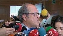 """Gabilondo: """"La moción de censura decae una vez dimite la presidenta"""""""