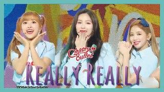 [HOT] Cherry Bullet -  Really Really,  체리블렛 - 네가 참 좋아 Show Music core 20190622