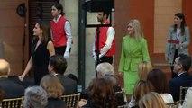 La Reina Letizia preside unos premios de literatura juvenil acompañada de Cristina Cifuentes