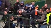 Dos aficionados del Atlético de Madrid detenidos por agredir a la policía en Lisboa