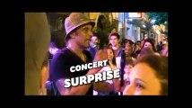 Pour la Fête de la musique, Yannick Noah chante en pleine rue à Paris