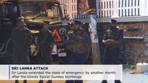 Sri Lanka extends emergency measures after Easter Sunday bombings