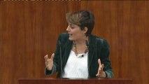 """Lorena Ruiz-Huerta: """"Ni sus explicaciones ni sus pruebas convencen a los madrileños"""""""