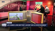 Le zoom: Les Cannes Lions mettent l'accent sur le divertissement - 22/06