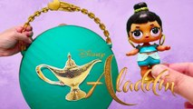 Big LOL Surprise Aladdin Live Action Toys and Dolls DIY - SWTAD Kids Pretend Play