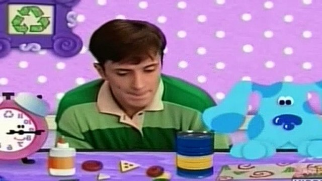 Blues Clues Season 2 Episode 5 - What Does Blue Want to Make Out of Recycled Things