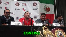 Andy Ruiz On His Favorite Punch