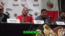 Andy Ruiz Picks Manny Pacquiao To Beat Keith Thurman Talks Rematch With Joshua & Fluffy