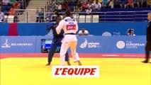 Priscilla Gneto ne passe pas les huitièmes - Jeux Européens - Judo