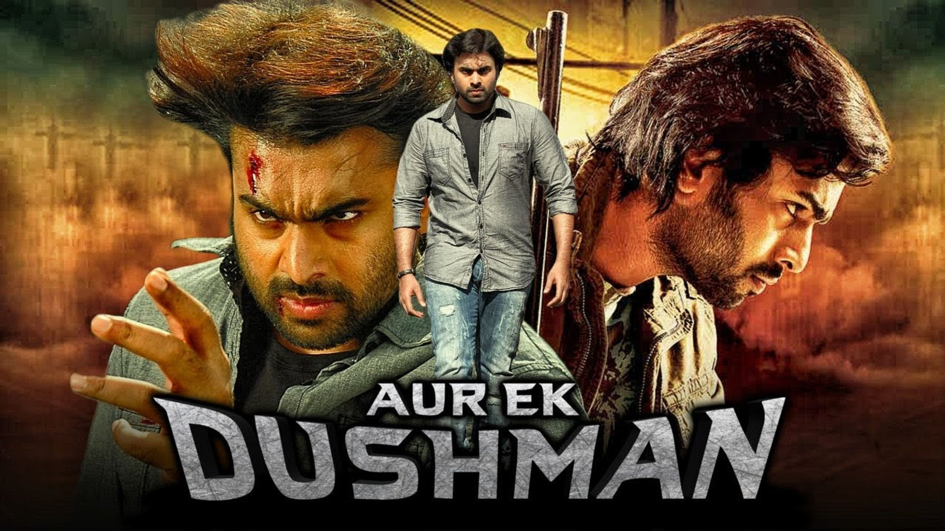 "Nara Rohit Superhit Action Hindi Dubbed Movie ""Aur Ek Dushman"" (Okkadine) Nithya Menon"