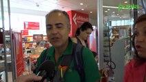 Napoli - Il coro di voci bianche del San Carlo in concerto all'aeroporto (22.06.19)