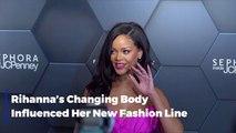 Rihanna Promotes A Positive Body Image Through Fashion