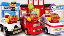 Animals ran away- Anpanman - Pororo Police car, Ambulance, Fire Truck Let's go- -PinkyPopTOY