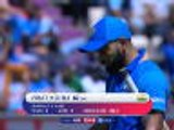 Kohli dismissed by Nabi