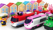 The villain stole the Peppa Surprise House- Help me, Pororo- Titipo- -PinkyPopTOY