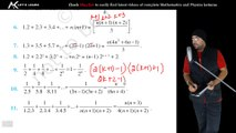 Lecture 1 Exercise 4 1 (Q1 to Q5) Principle of Mathematical