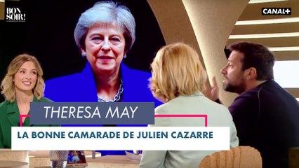 Le bon camarade: Theresa May - Bonsoir ! du 22/06 - CANAL+