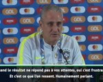 """Copa America - Tite : """"Quand le résultat ne répond pas à vos attentes, c'est frustrant"""""""