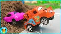 Disney Pixar Car Lighning McQueen and Racing Video for kids -KOToy