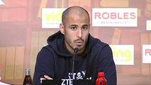 """Pizarro: """"Tenemos objetivos distintos a los que tiene el Betis"""""""