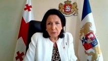 """Salomé Zourabichvili : """"La stabilité, notre priorité"""""""