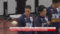 Torres unused sub after announcing retirement