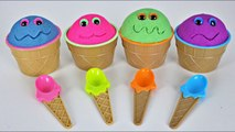 4 Colors Kinect Sand Toys Surprises Learn Colors for Kids MonsterKids Brinquedos