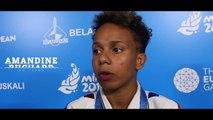 """Jeux européens Minsk 2019 - Amandine Buchard : """"Du mal à la savourer"""""""